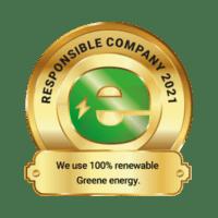Greene energy 100% renewable energy certification Bearhill Husky Safaris